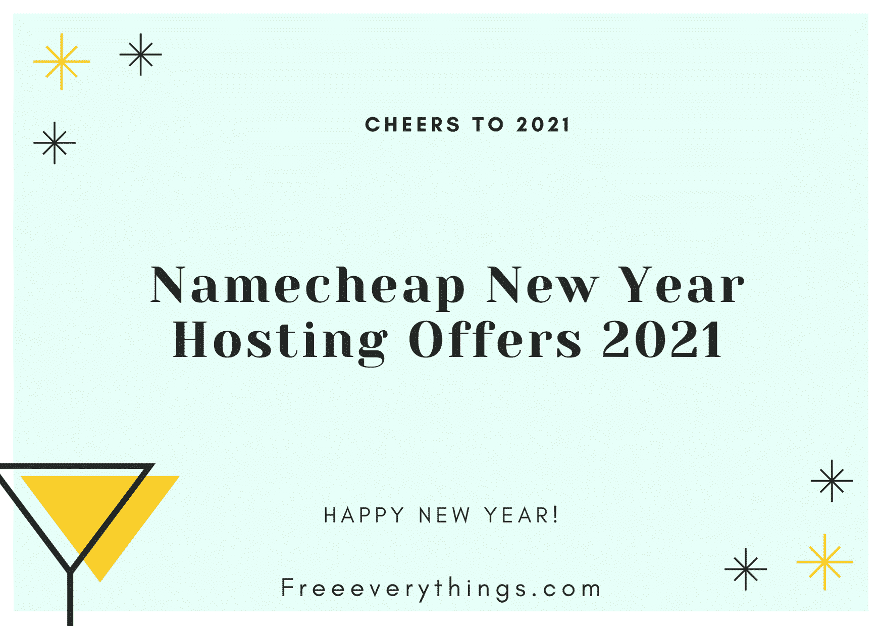 Namecheap New Year Hosting Offers 2021
